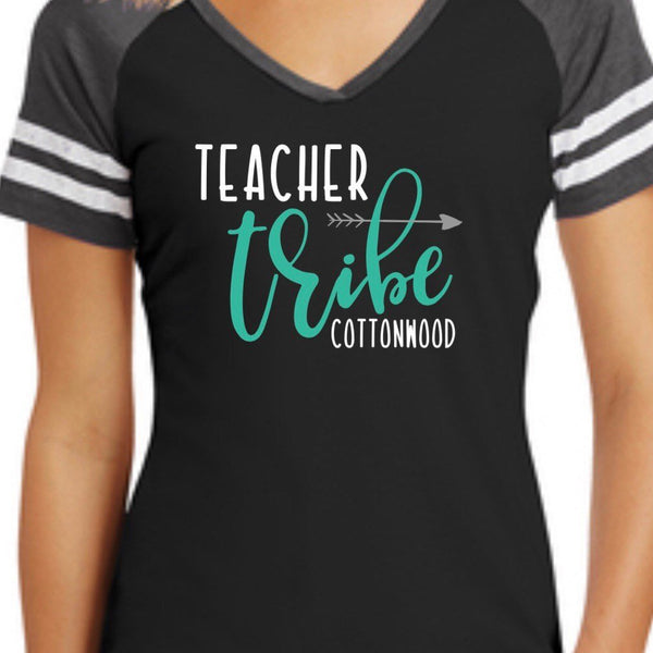 Teacher Tribe Shirt, Personalized Teacher Shirt, Team Shirt, Back to School Shirt, Tribe Shirt, Fun Teacher shirt, Gift for Teacher, Teacher