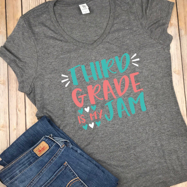 3rd Grade personalized teacher Shirt, Back to School Shirt, Third Grade Shirt, School Shirt, Teacher Shirt, Kids Shirt, First Day Of School