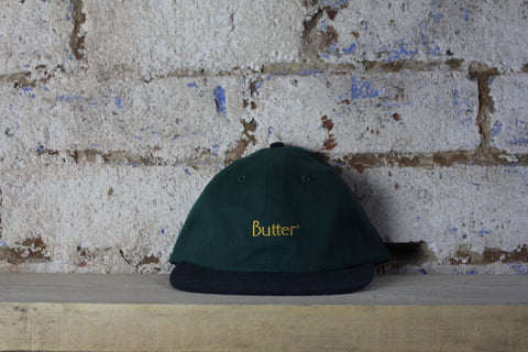 Butter Goods | Cap | Forrest Green/Navy Blue