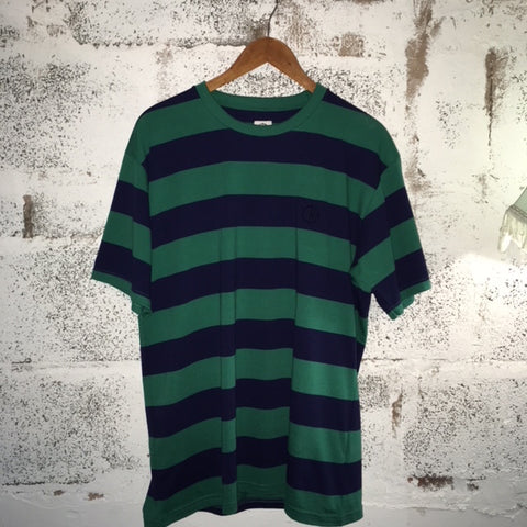 Polar | 91' Stripe Tee | Green/Navy