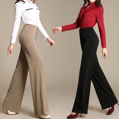 Business Casual Wide Leg Pants