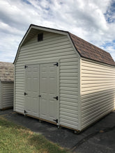 10X12 High Barn Vinyl Style Shed