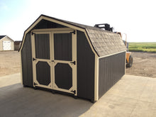 10X12 Low Barn Wood Style Shed