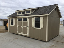 12X20 Deluxe W /LP Panel Siding Shed