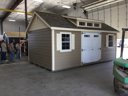 12X20 Deluxe W /LP Lap Siding Shed