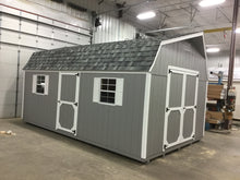 12X20 Everyday Backyard Shed Package With Wood Panel Siding ** Roofline - High Barn**