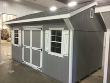10X16 Garden Package With Wood Panel Siding ** Roofline - Quaker Gable**