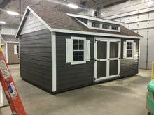 12X20 Garden Package With Wood Lap Siding ** Roofline - 7/12 Classic Gable W/Dormer**