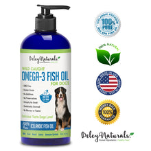 Omega 3 Fish Oil for Dogs – 32 oz Pump