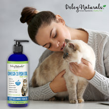 Wild Caught Omega-3 Fish Oil for Cats