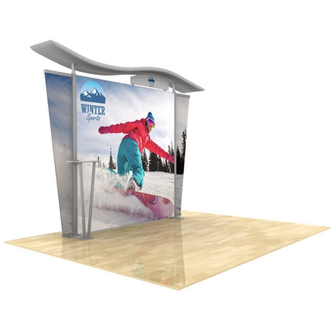10' Timberline Modular Display - Lightbox