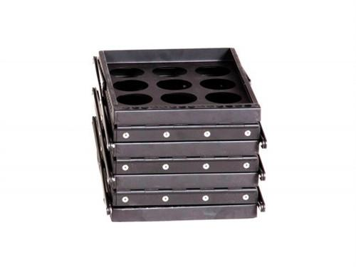 Literature Racks Zebra - Black
