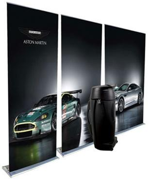 Three Pack Supreme Banner Stands & Cases