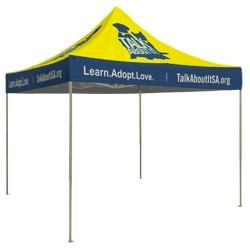 Event Tent 10ft Square Full Print