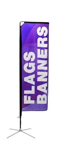 Mamba Outdoor Banner Stand - Small
