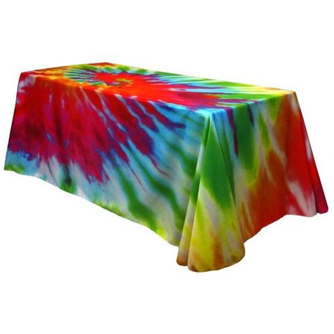 Fully Dye Sublimated 6ft Table Throw