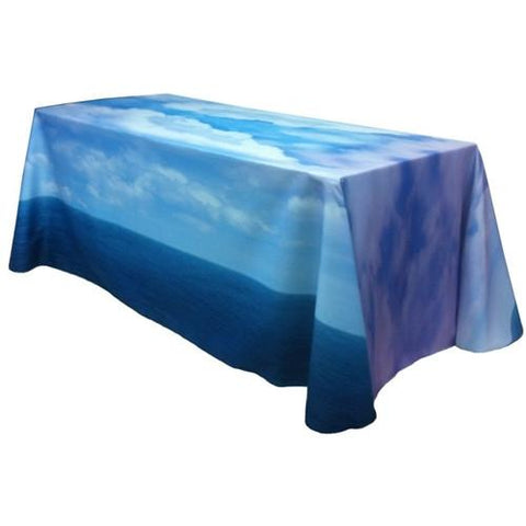 Fully Dye Sublimated 8ft Table Throw