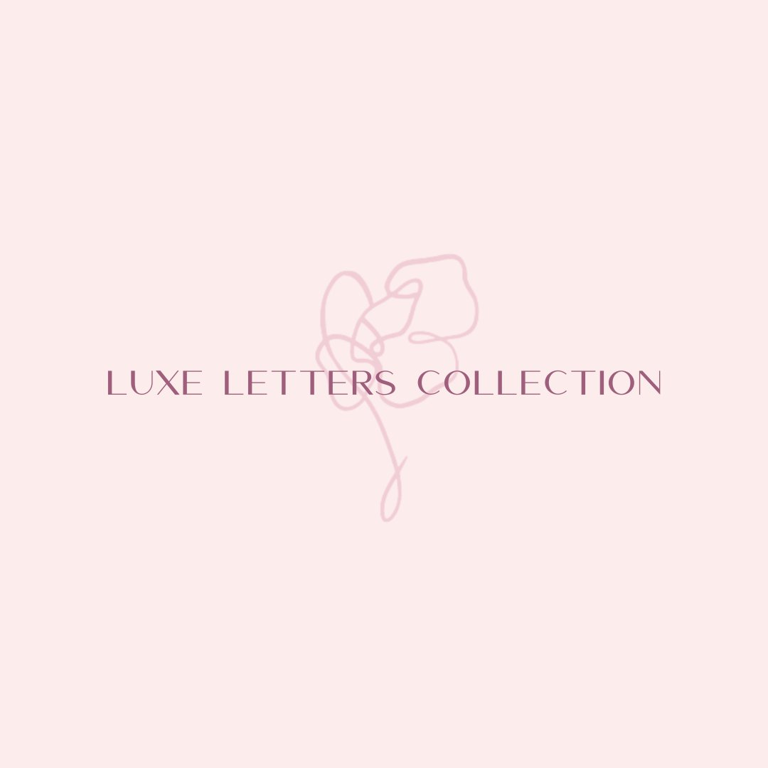 Luxe Letters Collection x HHC