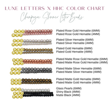 Design Your Own | Metallic Block Initial Letter Bracelet