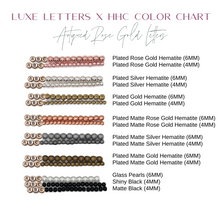 Design Your Own | SINGLE Heart Letter Bracelet