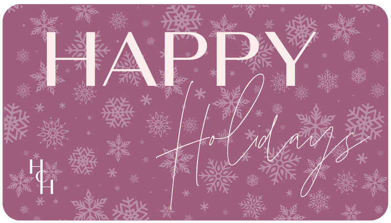 HHC Digital Gift Card || Happy Holidays