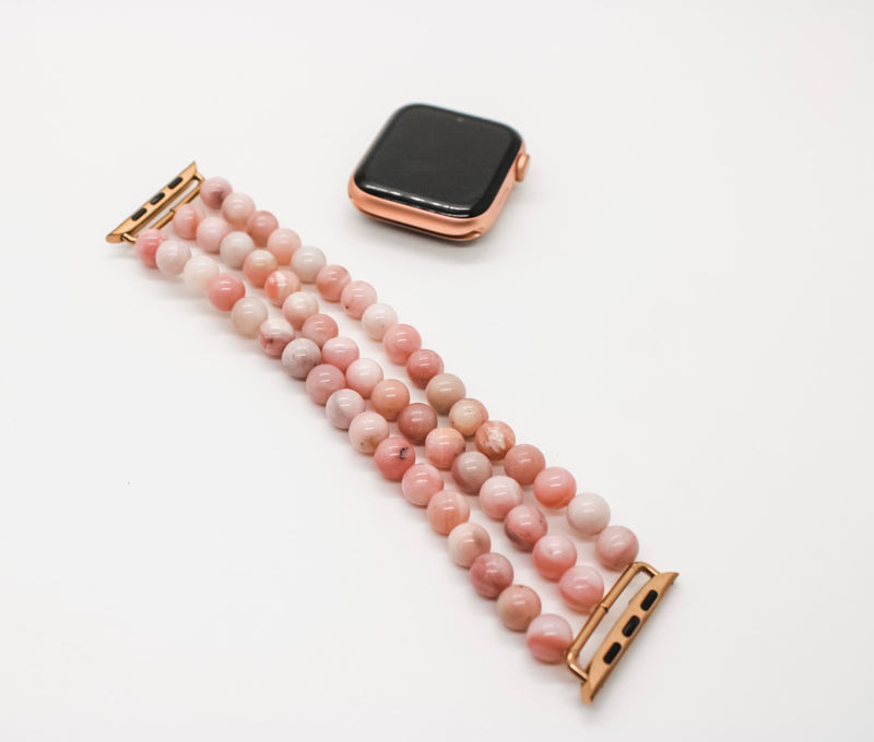Pink Opal Apple Watch Band