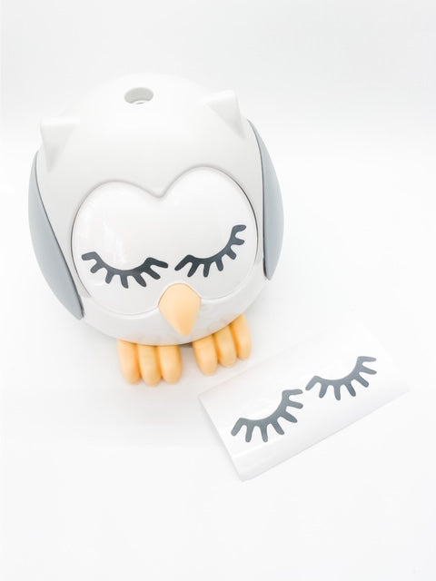 Feather the Owl Diffuser Eyelash Decal Set