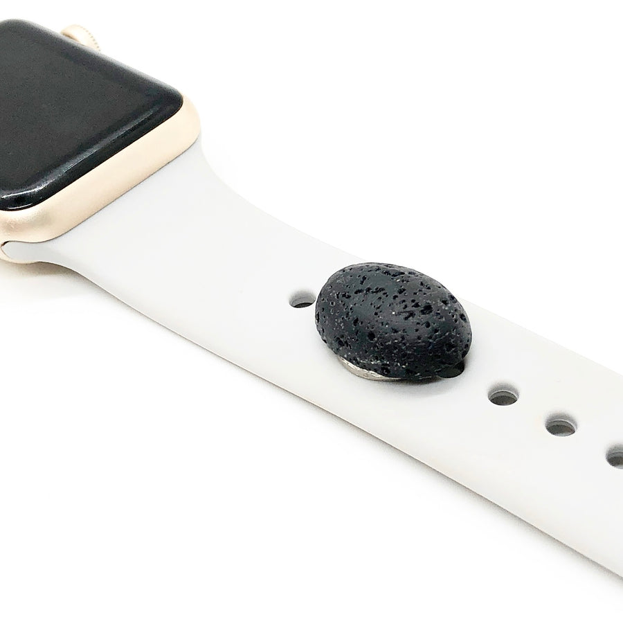 Lava Rock Watch Band Button