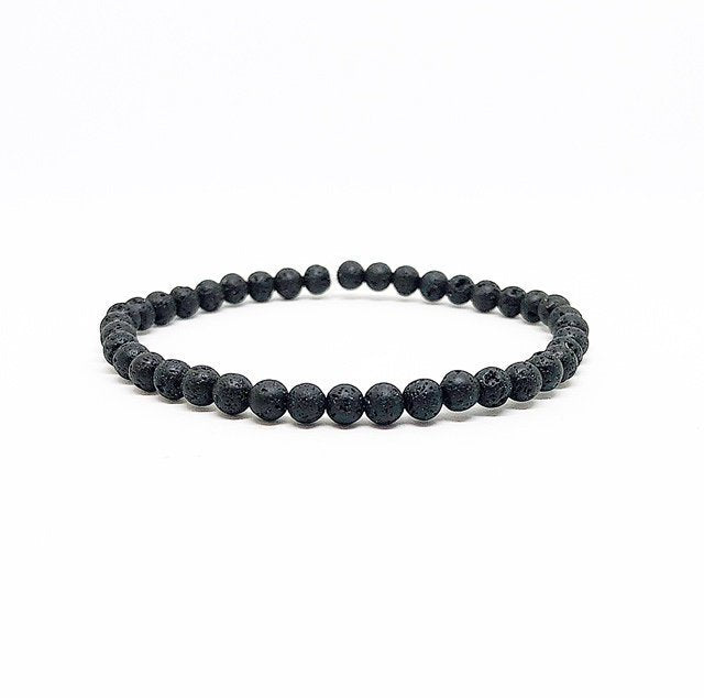 4MM Lava Rock Diffuser Bracelet
