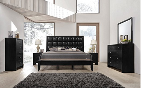 Roundhill Furniture Never Disappoints With The Modern Bedroom Furniture Sets  That It Puts Out. This Is The Best Modern Bedroom Furniture Set Because It  ...