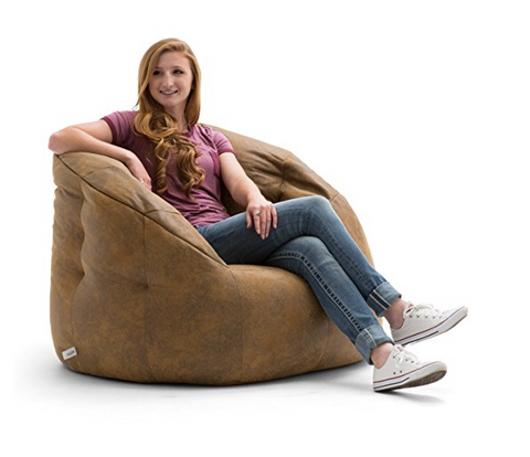 This Next Bean Bag Chair Will Fit In With Even The Most Sophisticated  Decor. The Lux By Big Joe Bean Bag Chair Comes In Two Color Variances; ...