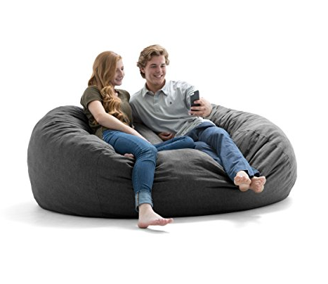 Extra Large Cuddle Bean Bag Chair For Two People By Big Joe   $189.99