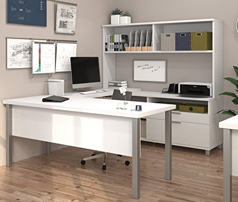 BESTAR Has This Amazing Ultra Modern Office Furniture For Those Who Are  Looking For Something Much Bigger. This Set Includes A Credenza, Desk,  Bridge, ...