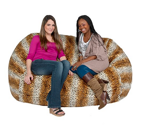 6ft 2 Person Bean Bag Chair For Adults By Cozy Sack   $228.00