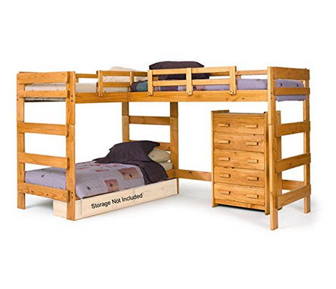The Best L Shaped Bunk Beds For Your Home Are The Ones That Are Going To  Help You Sleep Your Kids, But You Can Use Them In Any Room Where There Are  A ...