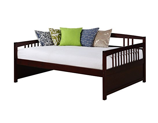 Full Espresso Brown Day Bed by Dorel Living