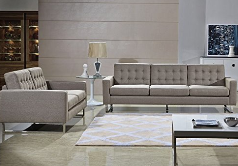 Contemporary Modern Sofa Set by Furniture Direct