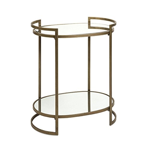 Art Deco Accent Table by CC Home Furnishings