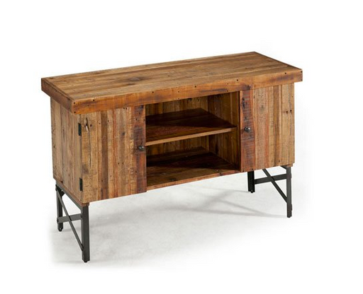 Natural Wood Sofa Table by Emerald Home