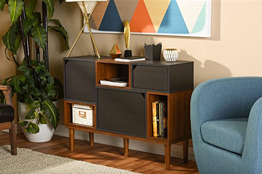 Mid-century Modern Storage Dresser by Baxton Furniture
