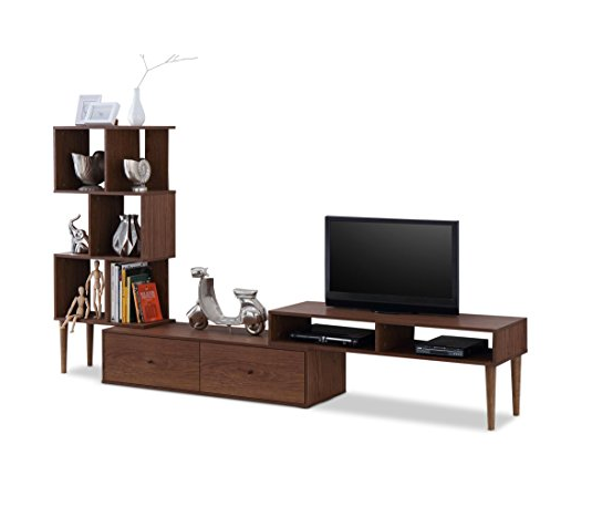 Mid-century Modern TV Stand & Entertainment Center by Baxton Furniture