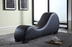 Curved Leather Yoga Sex Lounge Chair by Container Furniture Direct