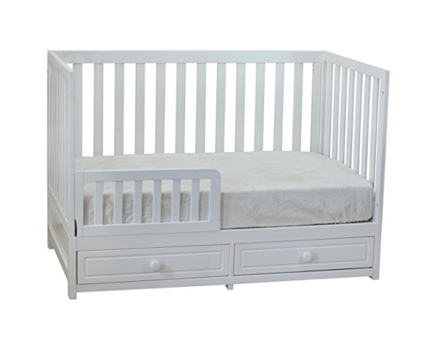 3-in-1 Convertible Modern Baby Crib by Athena