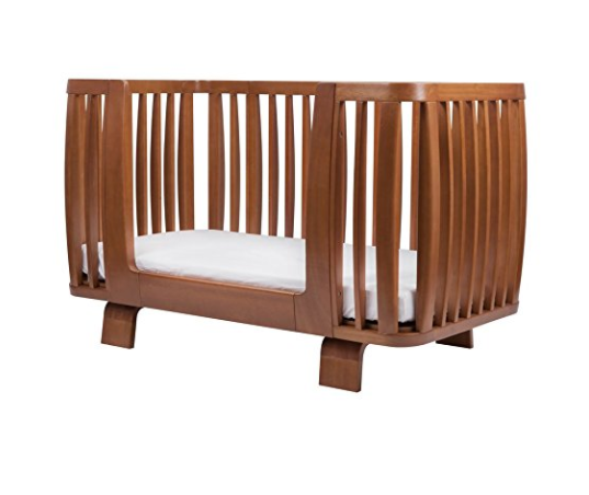 Mid-century Modern Baby Crib and Toddler Bed by BLOOM