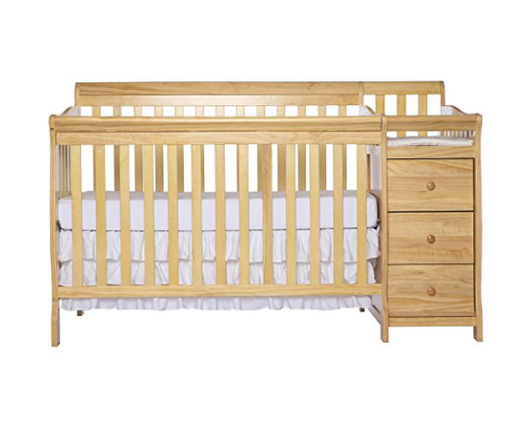 3-in-1 Convertible Crib, Toddler Bed, and Day Bed by Dream on Me