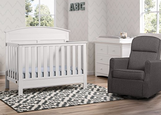 Attirant 5 Piece All In One Nursery Set By Delta Children ...