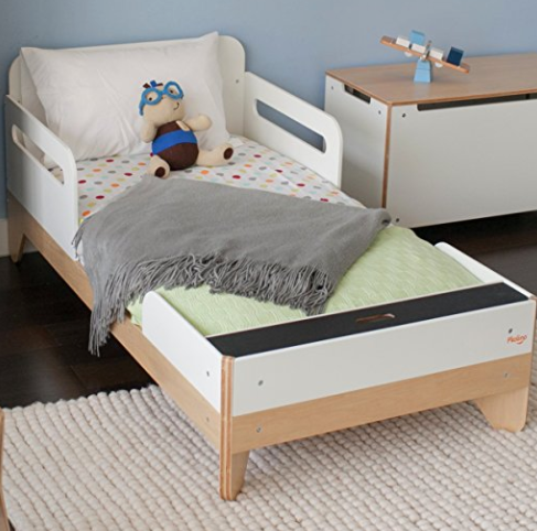 Modern Toddler Bed by P'Kolino