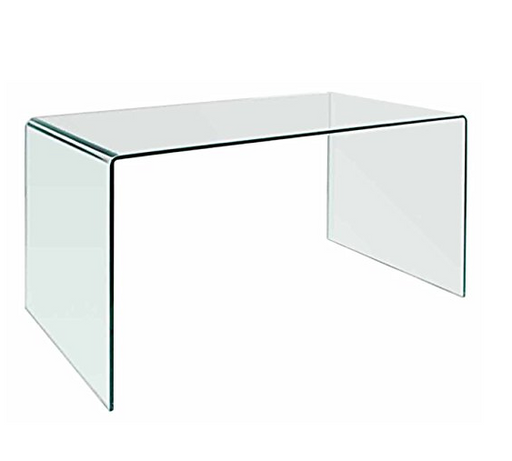 Ultra Modern Minimalist Glass Desk by Neos Modern Furniture