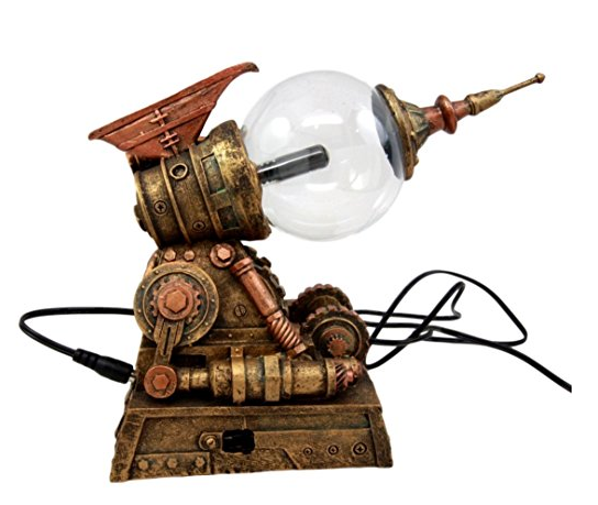 Steampunk Plasma Gun Lamp by Atlantic