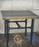 Rustic Steampunk End Table Furniture by Ferrero Art & Design